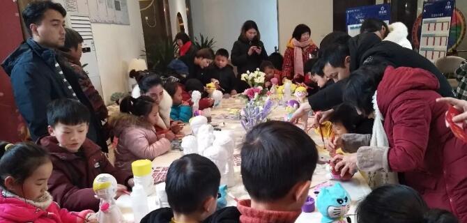 【汝南建业城】亲子携手,玩转创意!陶瓷彩绘DIY圆满结束!